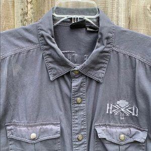 Harley Davidson blow-out shirt 2xl